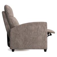 Кресло-реклайнер Финита, светло-серый
