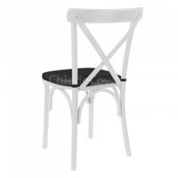 Подушка для стула Кроссбэк, черная