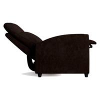 Кресло-реклайнер Финита, темно-коричневый