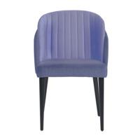 Полукресло Лилия, сине-фиолетовый