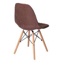 Чехол Е07 на стул Eames, коричневый