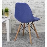 Чехол Е06 на стул Eames, синий