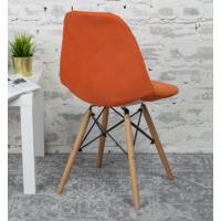 Чехол Е06 на стул Eames, оранжевый