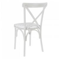 Подушка для стула Кроссбэк, белая