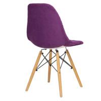 Чехол Е07 на стул Eames, фиолетовый