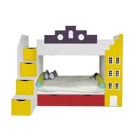 Кровать Амстердам двухъярусная детская с 2-мя ящиками