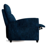 Кресло-реклайнер Финита, синий