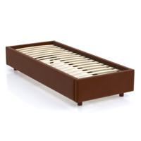 Кровать SleepBox Velvet Brown