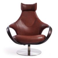 Кресло Дублин, красно-коричневое