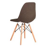 Чехол Е02 на стул Eames, уплотненный коричневый