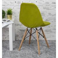 Чехол Е03 на стул Eames, оливковый