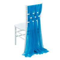 Декор на стул Кьявари 06, синий