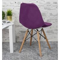 Чехол Е06 на стул Eames, фиолетовый