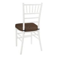 Подушка 01 для стула Кьявари, 5см, коричневая