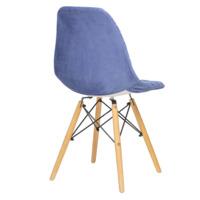 Чехол Е07 на стул Eames, синий