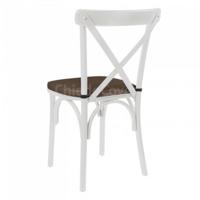 Подушка для стула Кроссбэк, коричневая