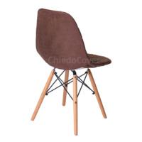 Чехол Е03 на стул Eames, коричневый