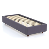 Кровать SleepBox Velvet Gray