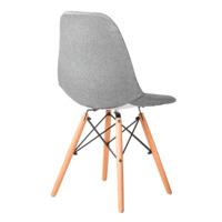 Чехол Е02 на стул Eames, уплотненный серый