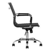 Кресло офисное TopChairs City S, черное