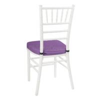 Подушка 01 для стула Кьявари, 5см, фиолетовая
