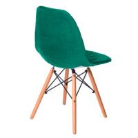 Чехол Е03 на стул Eames, зеленый