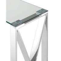 Консоль Кросс 115*30 серебро
