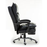 Кресло руководителя TopChairs Alpha, черное