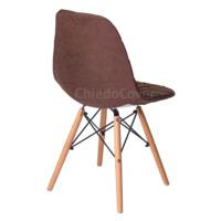 Чехол Е06 на стул Eames, коричневый