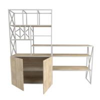 Стеллаж + стол для офиса Лофт №1